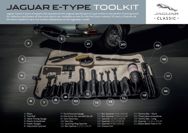 Jaguar ToolKit - теперь и для E-Type